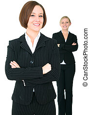 Two Female Successful Businessteam