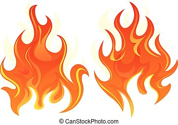 Two fire icon