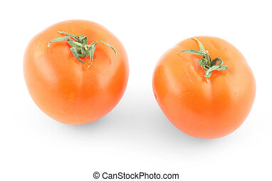 two fresh tomatoes o