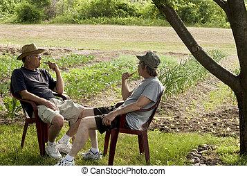two gardeners