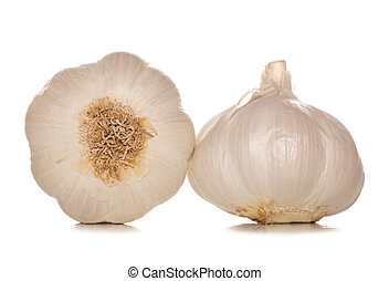 two garlic cloves