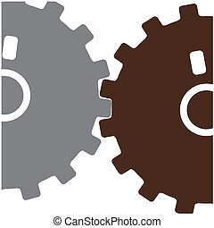 two gears working together