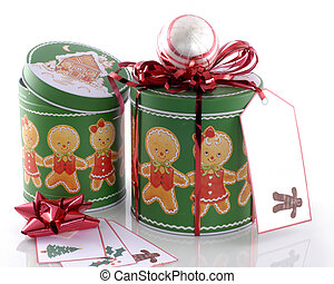 Two Gingerbread Tins