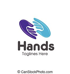two hands Care logo