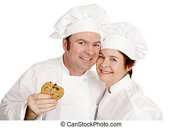 Two Happy Bakers