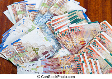 Two hundred shekel bank notes . - Two hundred and one ...