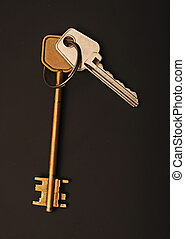 two keys to the apartment