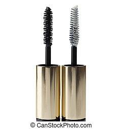 Two mascara brushes