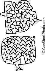Two mazes