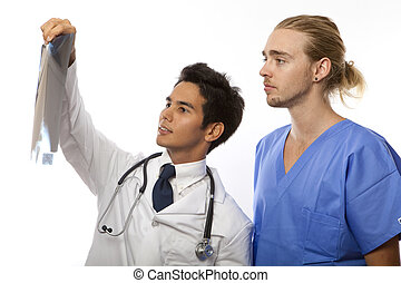 two medical students/interns