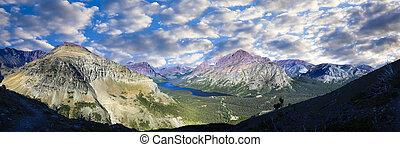 Two Medicine Lake Panorama