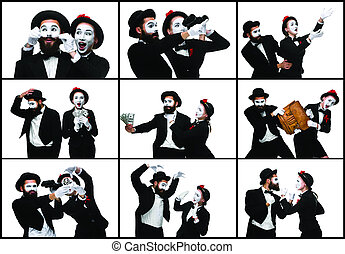 two memes as business man and woman on white background the collage from images of two memes as picture_csp42651271 meme stock photo images 874 meme royalty free images and