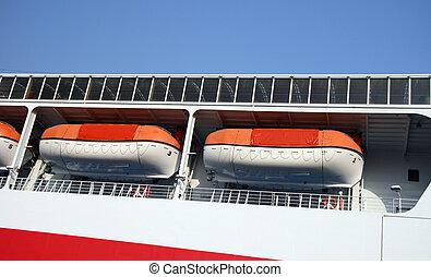 modern life boats