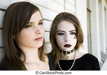 Two Modern Teenagers