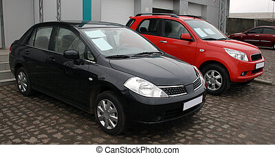 Two new cars for sale