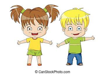 Two nice Kids