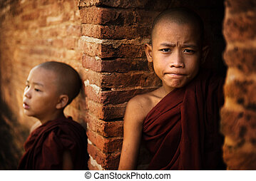 Two Novice monk