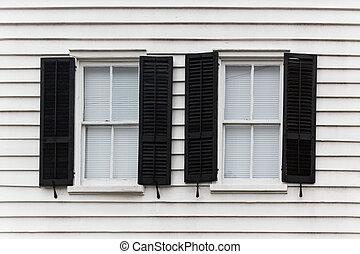 Two open windows