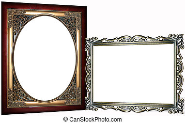 Two Ornate Frames