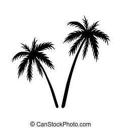 Two palms sketch