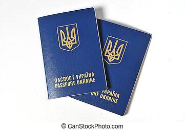 Two passports of Ukraine