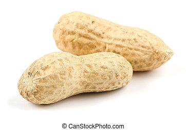 Two peanuts
