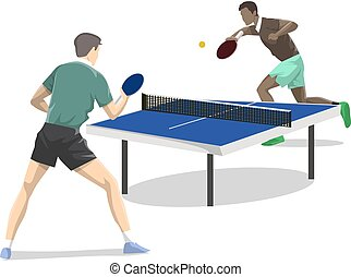 two., ping-pong