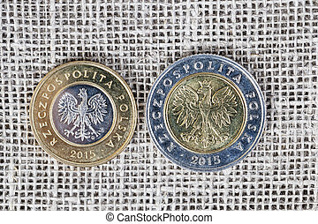 two Polish coins