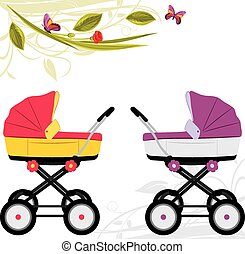 Two prams