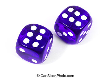 Two Purple Dice
