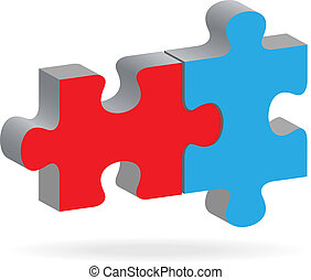 Two puzzles - The two connected puzzles