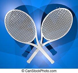 Two racket
