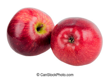 two red apple