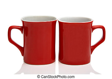 Two red cups