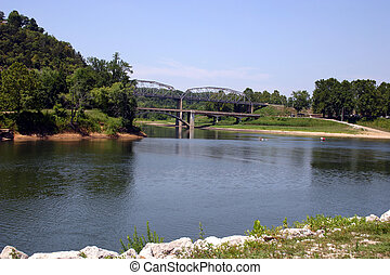 Two road bridges
