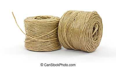 Two rolls of polypropylene twine - Two new rolls of...