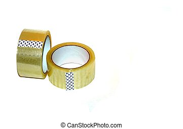 Two rolls of tape - Box tape