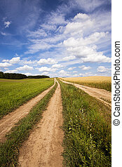 two rural roads