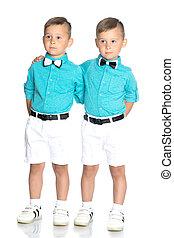 Two sad Gemini boys