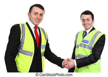 Two security men