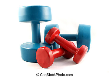 Two sets of DumbbellsDumbbells