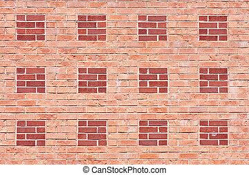 Two Shades of Brick Wall