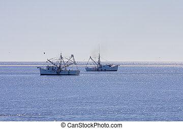 Two Shrimp Boats