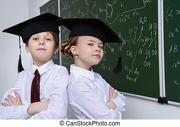 two smart students