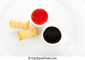 Two Spring Rolls