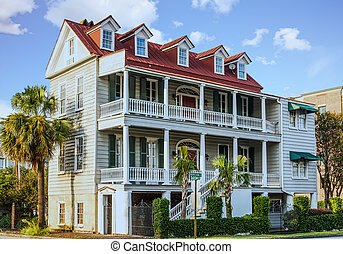 Two Story Antebellum in Charleston