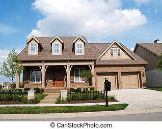 Two Story Brick Home