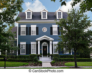 Two-Story Colonial - charming, two-story colonial home in...