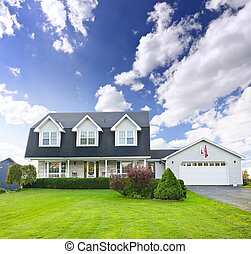 Two story residential home - Beautiful two story residential...