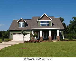 Two Story Residential Home - Two story residential home ...